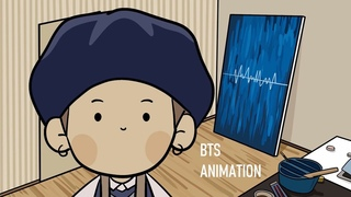 BTS mini animation - yoongi, the painter