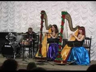 Moscow Harpduet Sharm - Дуэт арф Шарм ( Очарование )