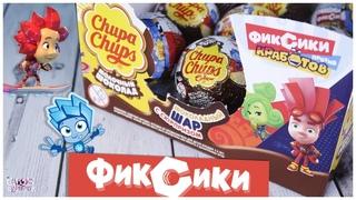 Фиксики в Chupa Chups | 🔩Фиксики против Кработов от Чупа Чупс