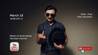 Sasha Boole Quarantine Concert