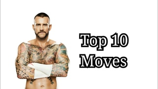 Top 10 Moves of CM Punk