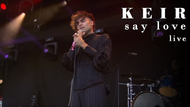 Keir Say Love Live at Rock Werchter 2018