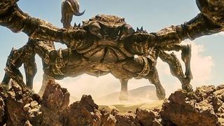 Битва Титанов | Бой с гигантскими скорпионами