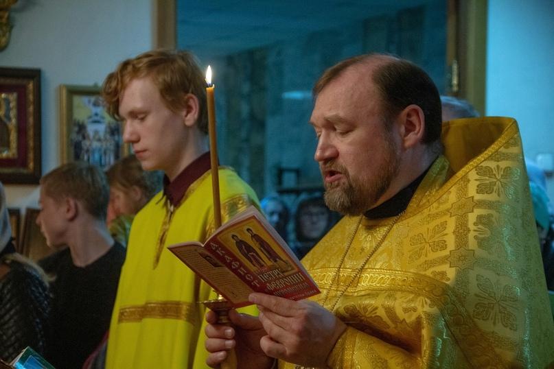 Протоиерей Святослав Зулин, настоятель Свято-Троицкой церкви, г. Томск