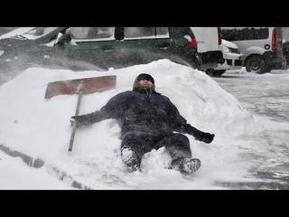 ТАКОГО В МОСКВЕ ЕЩЕ НЕ БЫЛО! Снегопад посреди весны в Москве 21 апреля, Москва погода, боль земли