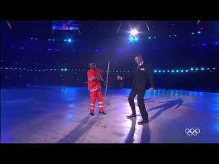 Самба на церемонии закрытия Олимпийских игр Лондон-2012