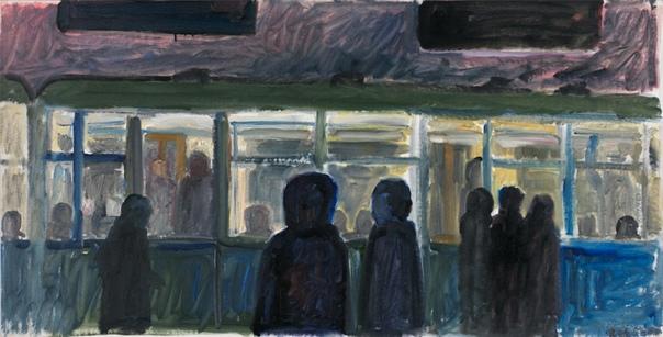 Михаил Рогинский (1931 2004) Даже прожив четверть века во Франции, Михаил Рогинский продолжал рисовать советскую Москву 1960-1970-х годов: блочные дома-хрущобы, окраинные пустыри, слякотные