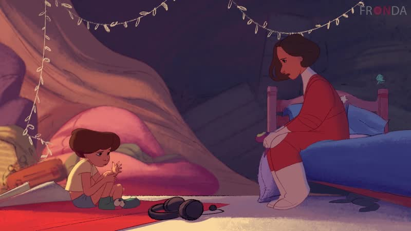 FRONDA Перегрев Анимационный короткометражный фильм BURN OUT Animation Short Film 2017 GOBELINS На русском языке
