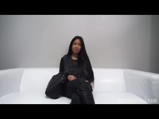 Asian girl on casting (порно, porn)