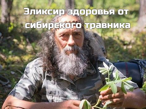 Эликсир здоровья от сибирского травника: 3 ложки в день избавят от десятка