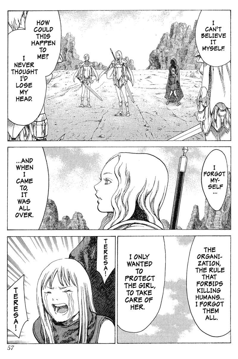 Claymore, Chapter 17, image #17
