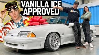 Кен Блок подарил 14-летней дочери Мустанг для дрифта как в клипе Vanila Ice