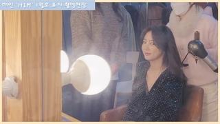 해인(LABOUM)- 병영매거진'HIM' 신년호 커버 촬영 BEHIND