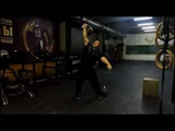 Доношение с четырёхпудовой гирей. Two hands anyhow with the oldtime 4 pud kettlebell - 115,5 kg