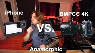 iPhone vs Blackmagic Pocket 4k — Anamorphic Comparison In A Real-World Scenario!