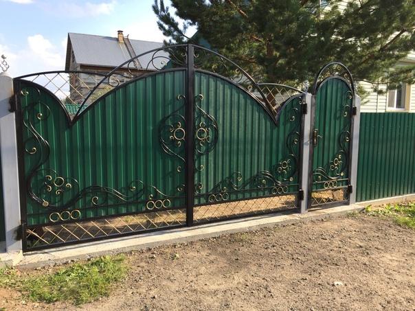 Идея для ворот
