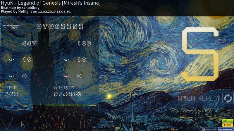 HyuN - Legend of Genesis [Mirash's Insane] no CB