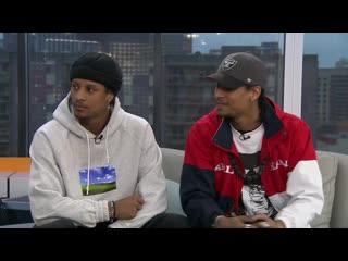 Interview les Twins for Salut Bonjour at