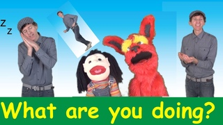 What Are You Doing? Song 1   Action Verbs Set 1   Learn English Kids