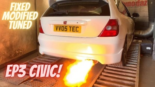 Honda Civic EP3 Type R Running Issues Fixed and Mapped