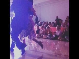 Momentos 2, 2/5  Mariano Chicho Frumboli  with Carolina Giannini  -Catania Tango Weekend- 29-30.06.2018 Night Milonga