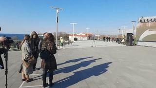Первые кадры с открытия памятника Примирению в Севастополе