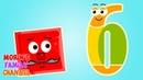 Изучаем цифру 6 ШЕСТЬ Развивающие мультики для детей 0-5 лет.