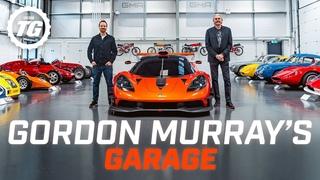 Inside Gordon Murray's incredible lightweight car collection   Top Gear