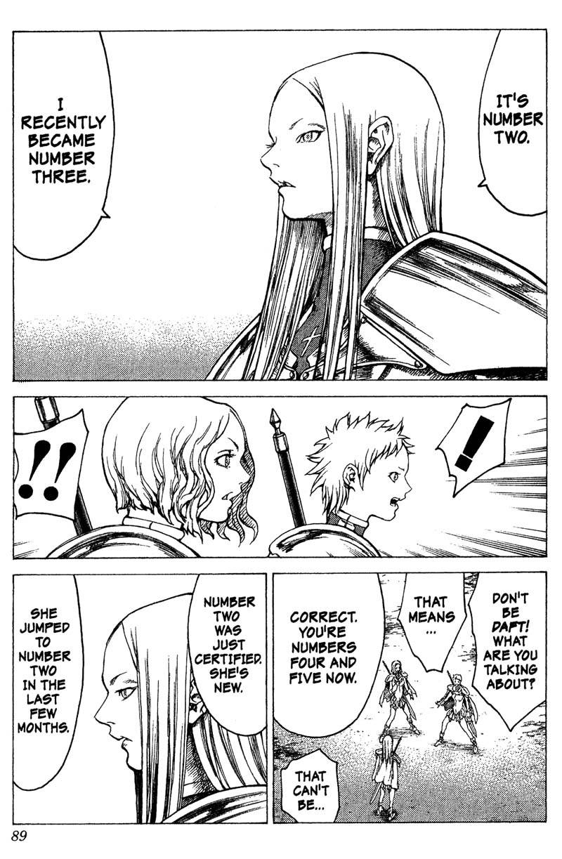 Claymore, Chapter 18, image #18