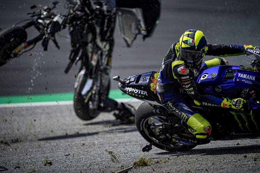 Страшная авария на Гран При Австрии 2020 (видео, фото)
