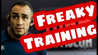 Tony Ferguson is trying to get injured before fight vs Oliveira at UFC 256. El cucuy freaky training