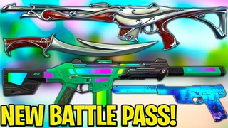 NEW Valorant Battle Pass is INSANE! - Ft Riot Devs // First Exclusive Look!
