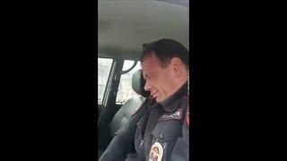 """""""Талый"""" майор полиции за рулём и остальная хрень,творящаяся в Алтайском крае"""