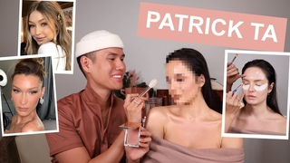 Bella Hadid's Makeup Artist Does my Makeup! Celebrity MUA Patrick Ta