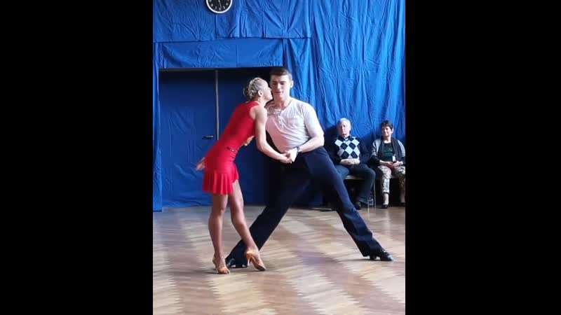 Marius-Andrei Balan und Kristina Moshenskaya