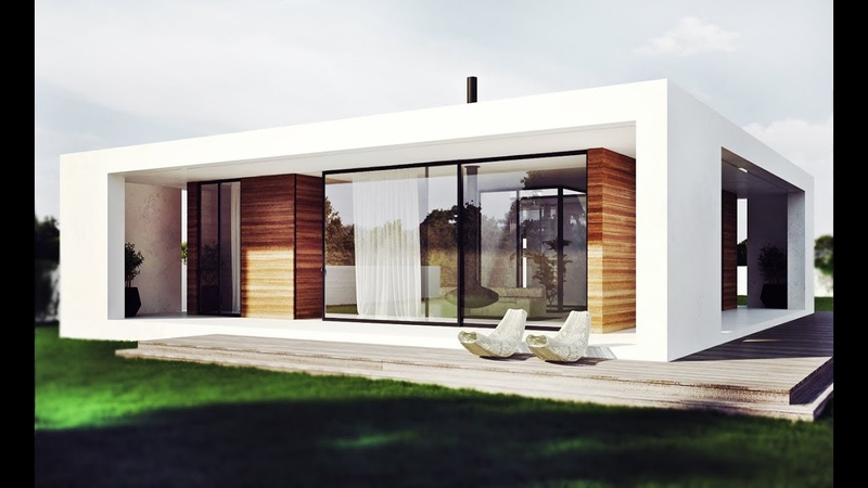 Living Area 75 7m² A One Storey Small House Was Design For A Middle Aged Couple