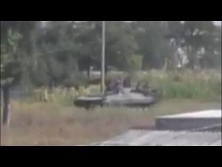 Украина.Родаково.Передвижение колонны террористов.. Видео |Луганск / Ukraine News