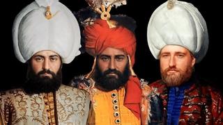 Ожившие при помощи нейросетей портреты султанов Османской империи