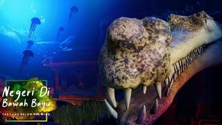 Deep Diving Gharial Habitat - Underwater Boat Ride 🐊   Planet Zoo Speed Build - Southeast Asia Pack