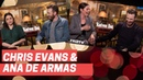 BEST OF CHRIS EVANS AND ANA DE ARMAS KNIVES OUT PRESS INTERVIEWS