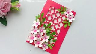 Beautiful Handmade Happy New Year 2020 Card Idea / DIY Greeting Cards for New Year.