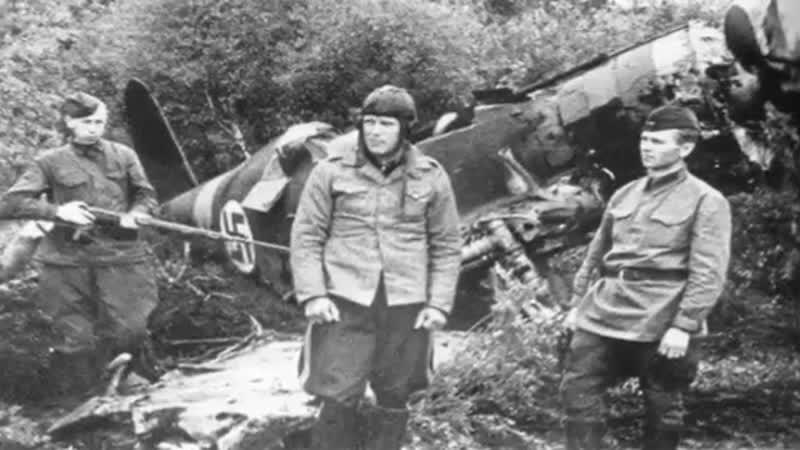 Удивительная встреча с пленным немецким лётчиком Куртом Меиром
