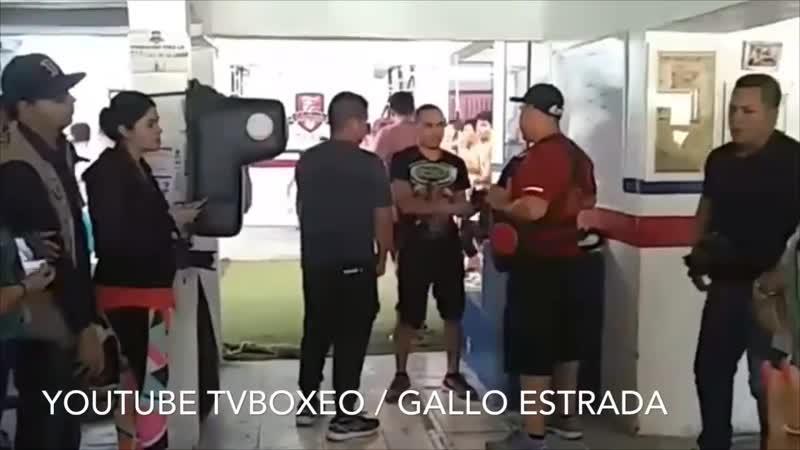 Открытая тренировка Хуана Франциско Эстрады 15082019