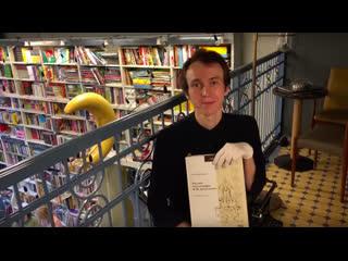 Влад рассказывает о книге К. Баршта Рисунки и каллиграфия Ф. М. Достоевского (Beat Film Festival)