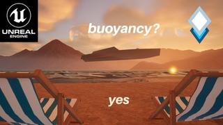 Water Buoyancy Tutorial - How to make things float