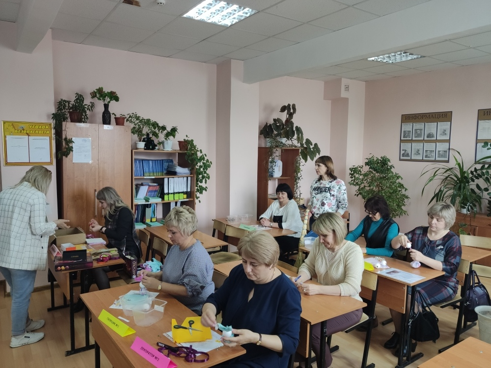"""Имитационный тренинг """"Фабрика сувенирной продукции"""""""