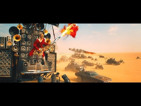 Mad Max: Fury Road 2015 Buzzards Attack Scene