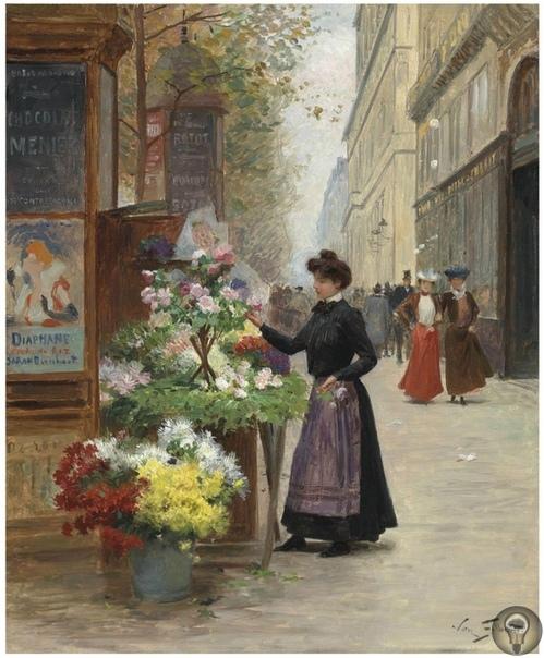 GABRIEL GILBERT) ФРАНЦУЗКИЙ ХУДОЖНИК Гилберт Виктор Габриель (Victor Gabriel Gilbert) родился в Париже в 1847 году. Его родители были бедными, и поэтому талантливый Виктор не смог получить