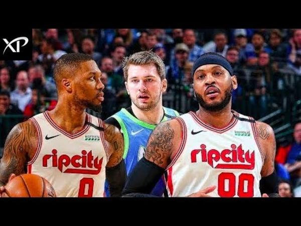 Portland Trail Blazers vs Dallas Mavericks - Full Game Highlights | 2019-2020 NBA Season