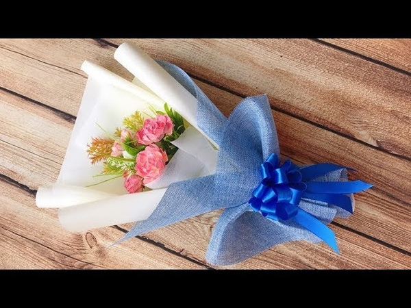 ABC TV | How To Make Paper Flower Bouquet 2 - Craft Tutorial